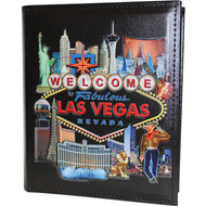 Colorful Embossed Las Vegas Photo Album-200 Photos