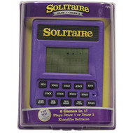 "Handheld Game ""Solitaire"" 2 in 1 Game"