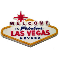 Las Vegas Souvenir Magnet Welcome Sign Design