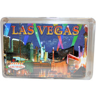 Purple Spotlights Las Vegas Playing Cards