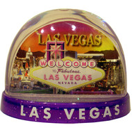 """LV Sunset"" LARGE Snowglobe/Snowdome"