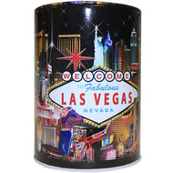 Tin Las Vegas Souvenir Savings Bank- Hotel Collage