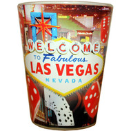 LV Red Dice Souvenir Shotglass
