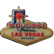 Las Vegas Sign-Pin/Lapel Souvenir