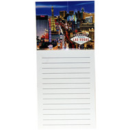 Las Vegas Magnetic Notepad Strip Design