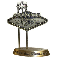 Bronze color Las Vegas Sign Paperweight Souvenir