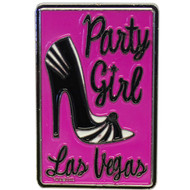 "Las Vegas ""Party Girl"" Heel Magnet Souvenir"