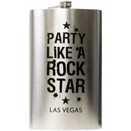 Party Like a Rock Star- LAS VEGAS JUMBO- Flask 64oz
