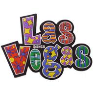 """""""Las Vegas"""" spellout  Laser Cut Magnet"""