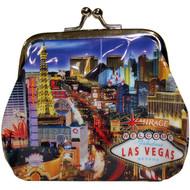 Las Vegas Coin Purse Strip Design