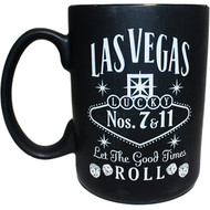 Las Vegas BLACK Whisky 14oz Tall Mug