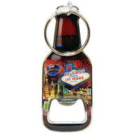 Las Vegas Bottle Shape Bottle opener