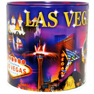 Metallic Collage Las Vegas Tin Bank