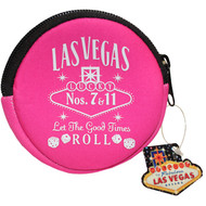 LV Pink Whisky Round Coin Purse