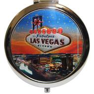 Las Vegas Star Compact Mirror