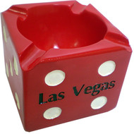 Las Vegas Dice Shaped Ashtray