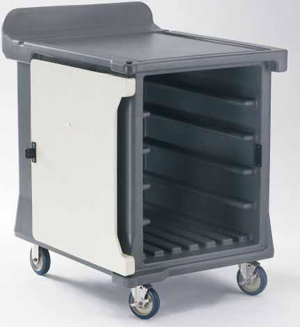 low profile meal delivery cart. 10 tray.