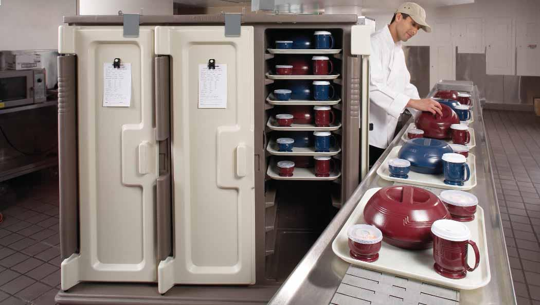 CAMBRO MEAL TRAY DELIVERY SYSTEMS