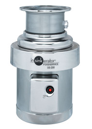 Heavy-Duty Commercial Disposer, 2 hp - SS-200