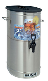 4 Gallon Cylinder Style Iced Tea/Coffee Dispenser BUNN 34100.0002