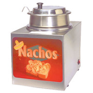 Dipper Style Cheese Warmer  With Lighted Sign - 2365LS