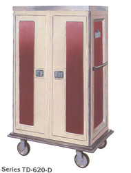 Tray Delivery Truck, 2 door, 2-compartment, non-insulated, capacity 20 trays. QUESTIONS? Call DIETARY EQUIPMENT COMPANY 1-877-755-4777