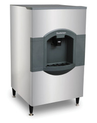 "iceValet® Hotel/Motel Ice Dispenser, floor model, push dispensing, approximately 180 lb storage capacity, designed for 30"" wide top mount cube-type ice makers, stainless front & sides, includes 6"" legs, 115v/60/1-ph, 2.1 amps, NSF, cULus"