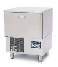 """HurriChill™ Blast Chiller/Shock Freezer, Reach-In, undercounter, self-contained, (3) 12"""" x 20"""" x 2.5"""" pan capacity, 30 lbs. from 160° F to 38° F blast chill capacity/90 minutes, 18 lbs. 160° F to 0° F freeze capacity/240 minutes, solid-state electronic control panel with VFD display & alarms, (1) food probe, stainless steel interior & exterior, 6"""" stainless steel legs, UL listed for safety & sanitation to NSF standards"""