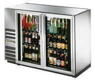 "24"" Back Bar Cooler, Glass Door - TBB-24GAL-48G-S"