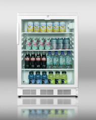 Beverage Merchandiser, White - SCR600L