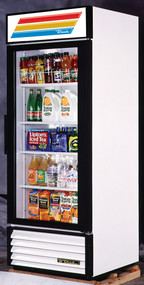 "Glass Door Merchandiser Refrigerator, One section, 30""l. - GDM-26"