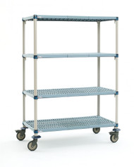MetroMax Q Mobile Shelving Unit - Q566BG3