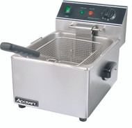 Countertop Full Pot Electric Deep Fryer ADCRAFT DF-6L