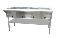 4 Well Steam Table Hot Food Serving Counter ADCRAFT ST-240/4