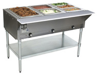 3 Well Hot Food Table Electric Serving Counter EAGLE GROUP DHT3-120