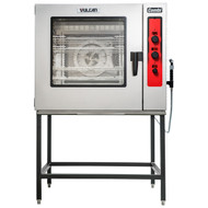 "Combi Oven/Steamer, electric, boilerless, (7) 18"" x 26"" full size sheet or (14) 12"" x 20"" full size hotel pan capacity, LED temperature display, humidity control, multiple cooking modes, timer, auto-reversing fan with electronic braking system, glass door, halogen lights, audible alarm system, (3) knobs, (4) wire racks, stainless steel interior & exterior, NSF/ANSI4, cULus"