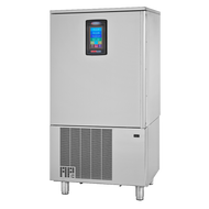 """HURRiCHiLL™ Blast Chiller/Shock Freezer, Reach-in, FREE SHIPPING,  self-contained, (10) 12"""" x 20"""" x 2.5"""" pan capacity, 100 lbs. from 160° F to 38° F blast chill capacity/90 minutes, 60 lbs. 160° F to 0° Freeze capacity/240 minutes, 7"""" LCD touch screen controller with Quick Start & A La Carte functionality, (1) heated food probe, stainless steel interior & exterior, 6"""" stainless steel legs, 1-1/2 HP, UL CLASSIFIED EPH, cUL, ANSI/NSF"""