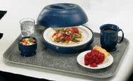 "The Shoreline Collection Bowl, 16 oz., 2-3/8""H, entree, outside dia. 5-1/4, polypropylene, navy blue, NSF"