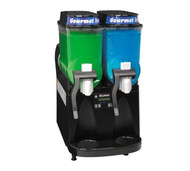 34000.0080 ULTRA-2 High Performance Ultra Gourmet Ice® Frozen Drink Machine, counter model, (2) 3 gallon hoppers, internally monitored refrigeration system, touchpad display, reversing auger design freeze time & reduces air mixing, black decor, cord attached, 120v/60/1-ph, 12amps, NEMA 5-15P, NSF, ETL