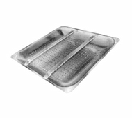 "Pre-Rinse Basket with Slide Bar, for 16""W x 20""D pre-rinse sink"