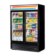 50 Hz Refrigerated Merchandiser, two-section, (8) shelves, laminated vinyl exterior, white interior with stainless steel floor, (2) Low-E thermal glass hinged doors, LED interior lights, R290 Hydrocarbon refrigerant, 1/2 HP, 115v/60/1, 8.5 amps, NEMA 5-15P, cULus, NSF, MADE IN USA, ENERGY STAR®