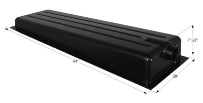Holding Tank Center End Drain HT186BED