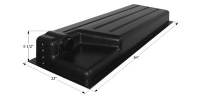 Holding Tank Recessed Drain HT387RE