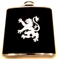 Lion Rampant Hip Flask