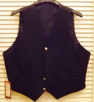 Dark Navy Blue Men's Vest