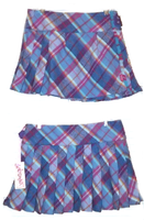 Ness Tartan Plaid Skirt by Robena Bluebell