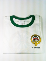 Clan Collared T-Shirt - Cameron