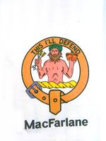 Clan Collared T-Shirt - Macfarlane
