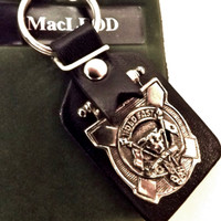 Art Pewter Clan Crest Key Ring