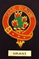 Clan Crest Blazer Badge